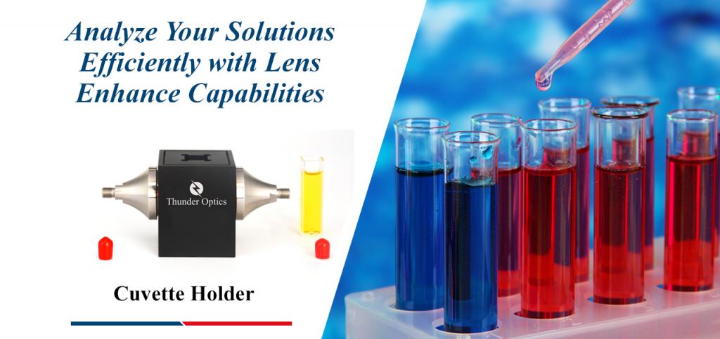 Cuvette Holder Lens Optics